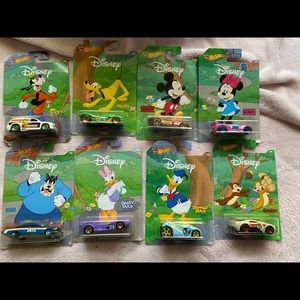 Disney hot wheels collection